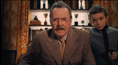Wilkinson in The Grand Budapest Hotel